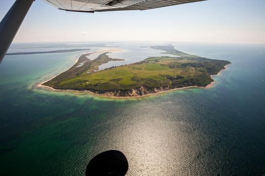 Fliegen über Rügen und Fischland
