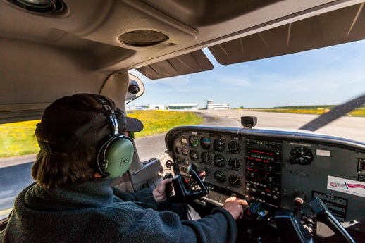 Flugzeug selber fliegen Güttin Rügen