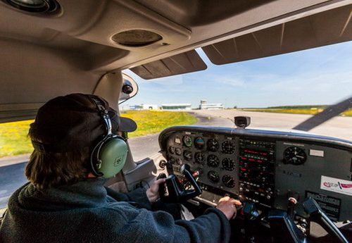 Flugzeug selber fliegen Güttin auf Rügen