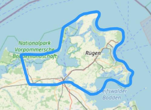 Route F Hiddensee Rügen Kap Arkona Binz