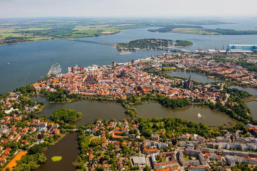Ballonfahrt Stralsund