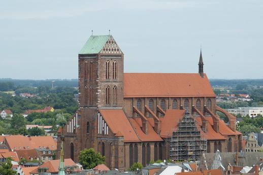 Ballonfahrt Wismar Hansestadt