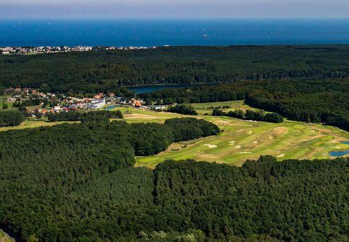 Ballonfahrt Wolgast Blick auf Usedom