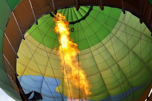 Ballonfahrt der Brenner