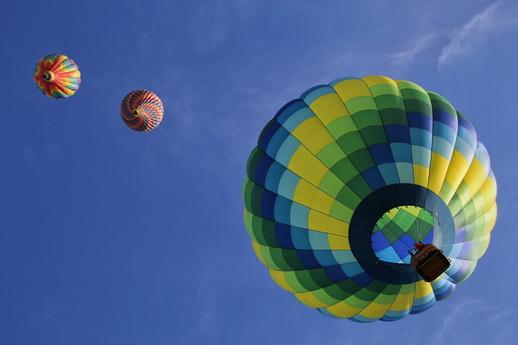 Ballonfahrt sanfte Riesen in Mecklenburg