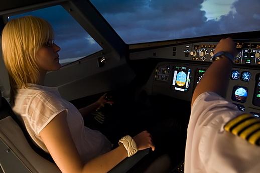 Flightsimulator A320 Berlin