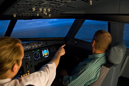 Flugsimulator Berlin die Flugstunde