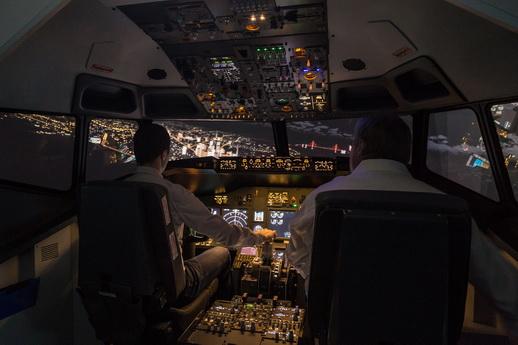 Flugsimulator Rostock 90 min einfach selber fliegen