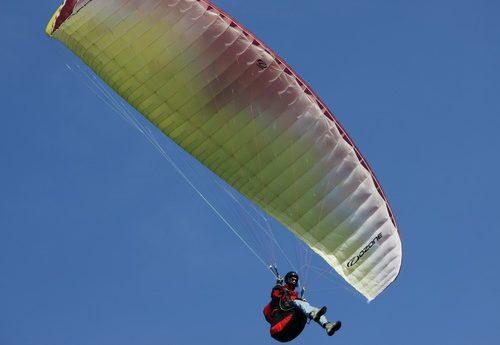 Gleitschirmfliegen Paragliding Waren Müritz
