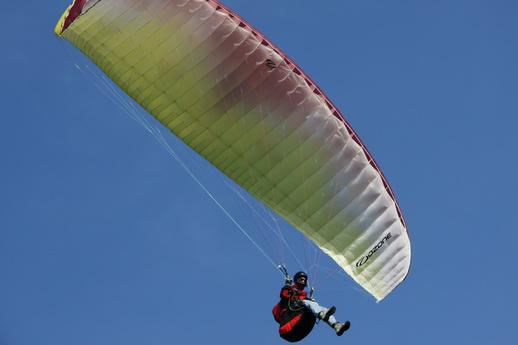 Gleitschirmfliegen Paragliding Waren Müritz Action Hochzeitsgeschenk