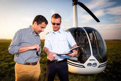 Hubschrauber selber fliegen Geschenk zur Hochzeit