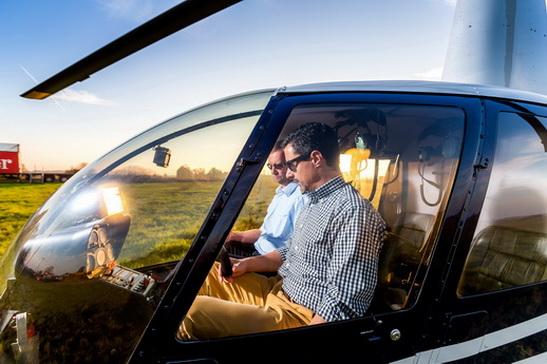Hubschrauber - Helikopter Rostock selber fliegen