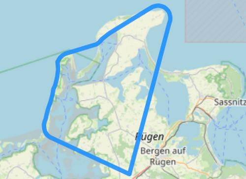 Route 3 Kap Arkona Hiddensee Wittow