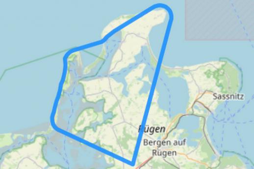 Route 3 Kap Arkona Hiddensee Wittow