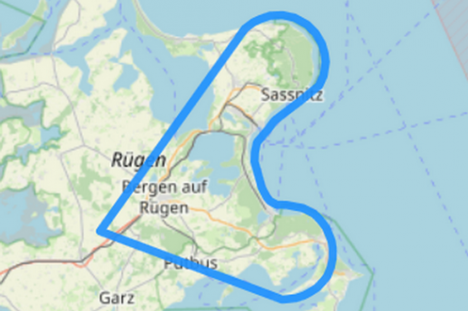 Route 4 Kreideküste Saßnitz Binz Putbus