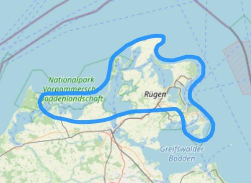 Route 8 Rund um Rügen Fischland Darß Zingst