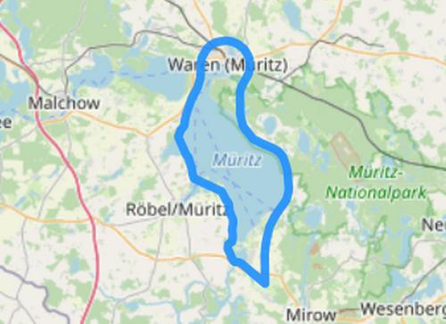 Route A Müritz Spezial Waren Röbel
