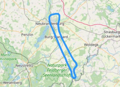 Route C Feldberger Seenlandschaft