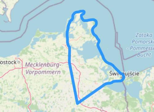 Route G Zwei Inseln Rügen und Usedom