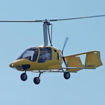 Rundflug Gyrocopter Tragschrauber Mecklenburg