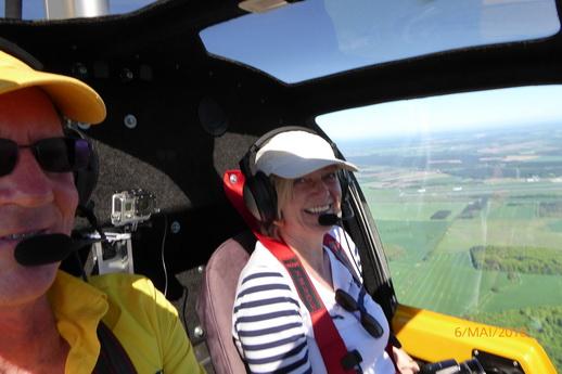 Rundflug Gyrocopter einfach abheben