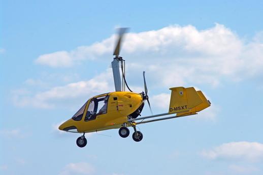 Rundflug Gyrocopter über Mecklenburg-Vorpommern