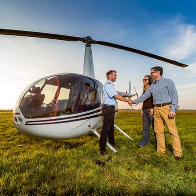 Rundflug Hubschrauber Helikopter Mecklenburg Vorpommern