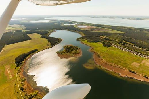 Rundflug Mecklenburgische Seenplatte