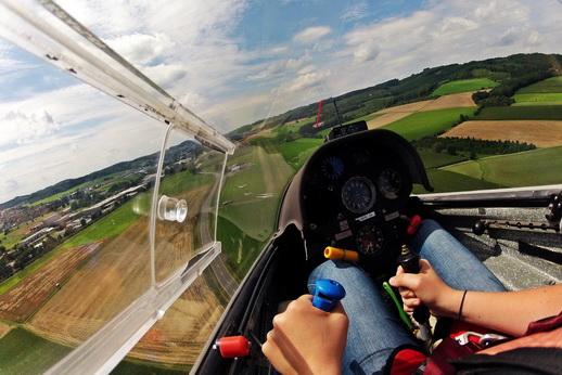 Segelfliegen Schnupperkurs Segelflug Mini Waren Müritz