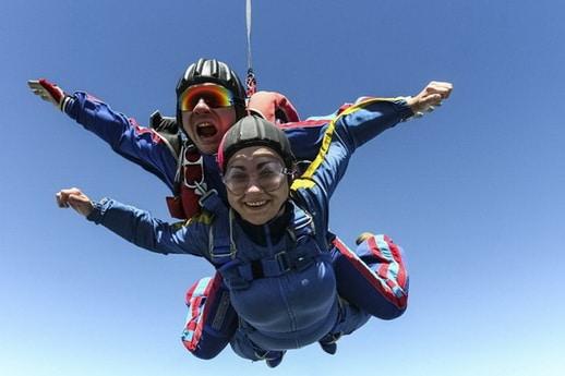 Fallschirmsprung als Jugendweihegeschenk verschenken