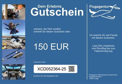 Wertgutschein 150 Euro
