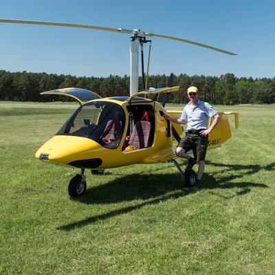 Gyrocopter Rundflug Flugplatz Neustadt-Glewe Mecklenburg-Vorpommern