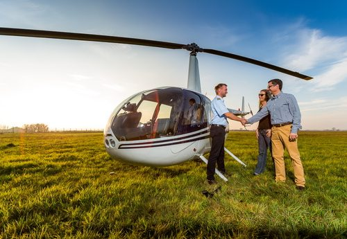 Hubschrauber Rundflug Rostock
