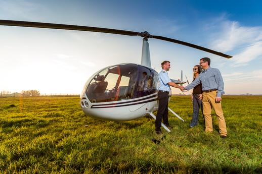 Hubschrauber Rundflug Rostock die Überraschung zur Hochzeit