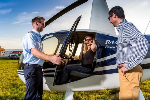 Rostock Hubschrauber Rundflug Hochzeitsgeschenk