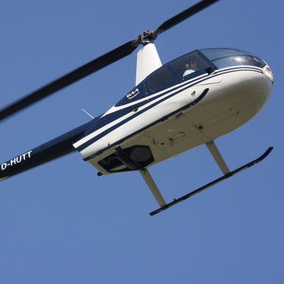 Hubschrauber Helikopter Rundflug Fischland