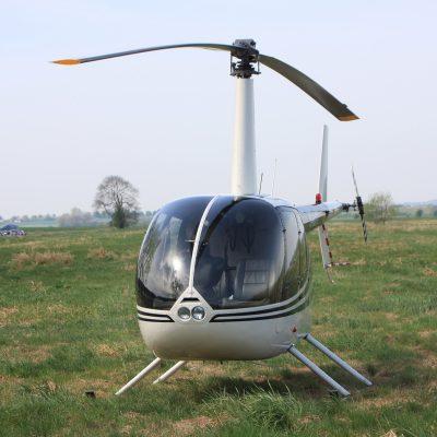 Hubschrauber Helikopter Rundflug Flughafen Laage