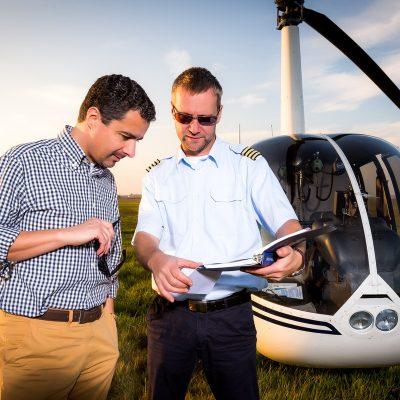 Hubschrauber Helikopter Selber fliegen in Rostock