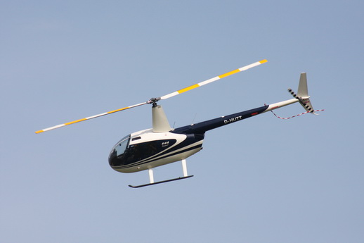 Unser Helikopter Robinson R44