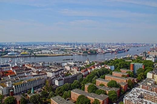 Erlebnis pur über Hamburg
