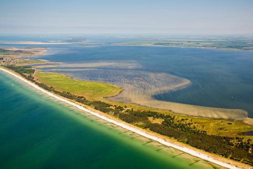 Fischland Darß eine Lagunenlandschaft