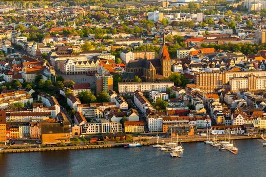 Hansestadt Rostock am Stadthafen