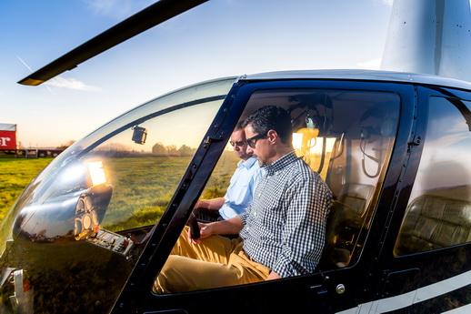Hubschrauber Incentive Mecklenburg-Vorpommern Unternehmen
