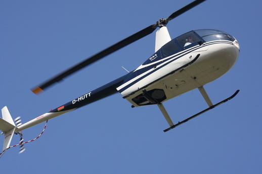 Hubschrauber Rundflug Mecklenburgische Schweiz Müritz Güstrow ab Flughafen Laage