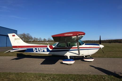 Rundflug Fischland Darß Zings ab Barth Cessna