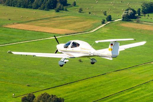 Rundflug Usedom vom Flughafen Heringsdorf mit einer DA 40