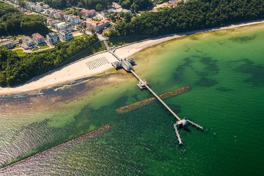 Seebrücken von Rügen