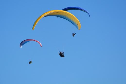 Gleitschirmfliegen Paragliding Mecklenburg