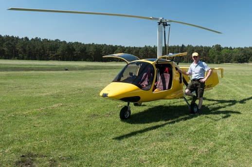 Rundflug Gyrocopter Tragschrauber Mecklenburg Vorpommern